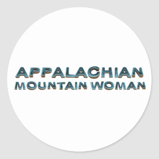 TEE Appalachian Mountain Woman Sticker