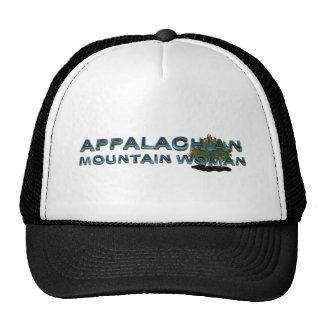TEE Appalachian Mountain Woman Trucker Hat