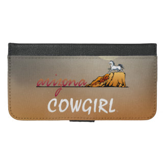 TEE Arizona Cowgirl iPhone 6/6s Plus Wallet Case