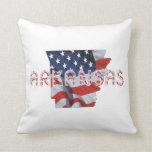 TEE Arkansas Patriot Pillow