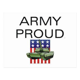 TEE Army Proud Postcard
