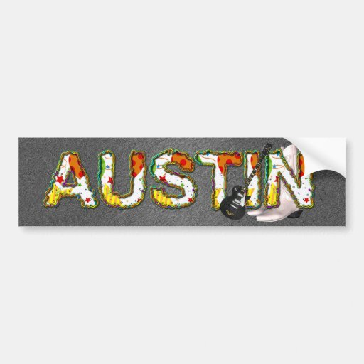 TEE Austin Bumper Stickers