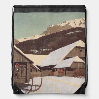 TEE Austrian Winter Drawstring Bag