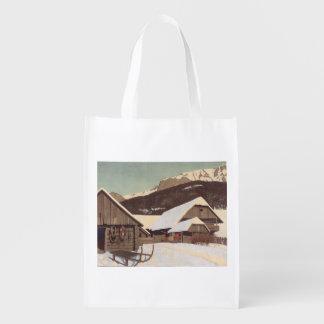 TEE Austrian Winter Grocery Bag