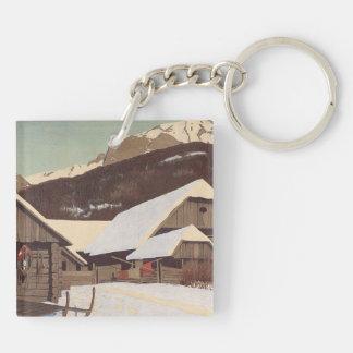 TEE Austrian Winter Keychain