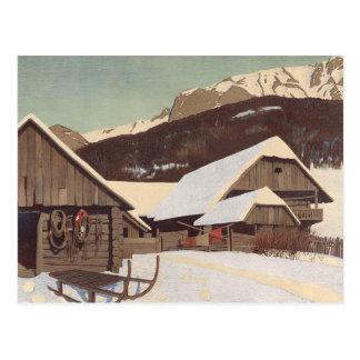 TEE Austrian Winter Postcard