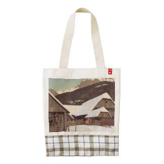 TEE Austrian Winter Zazzle HEART Tote Bag