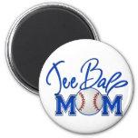 Tee Ball Mom Refrigerator Magnet
