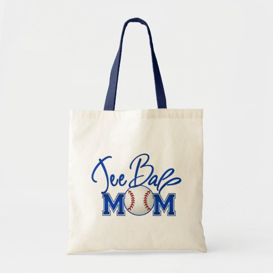 Tee Ball Mom Tote Bag