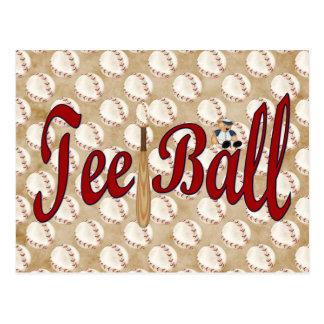 Tee Ball Postcard