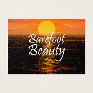 TEE Barefoot Beauty Business Card