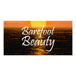 TEE Barefoot Beauty Card
