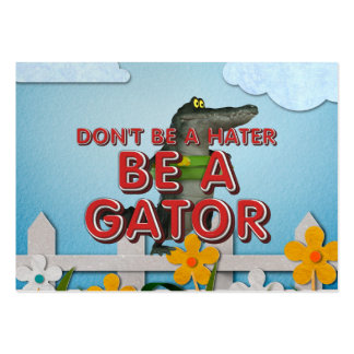 TEE Be Alligator Business Card Template