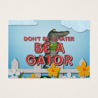TEE Be Alligator Business Card