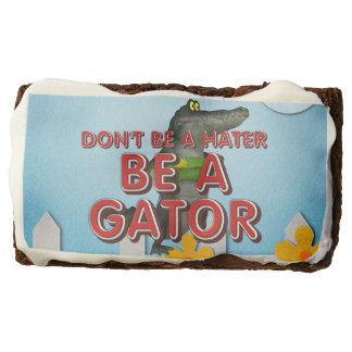 TEE Be Alligator Chocolate Brownie