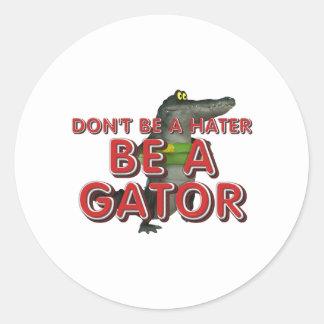 TEE Be Alligator Classic Round Sticker