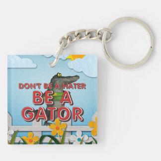 TEE Be Alligator Keychain