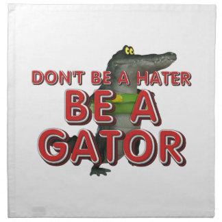 TEE Be Alligator Napkin