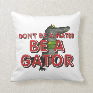 TEE Be Alligator Throw Pillow