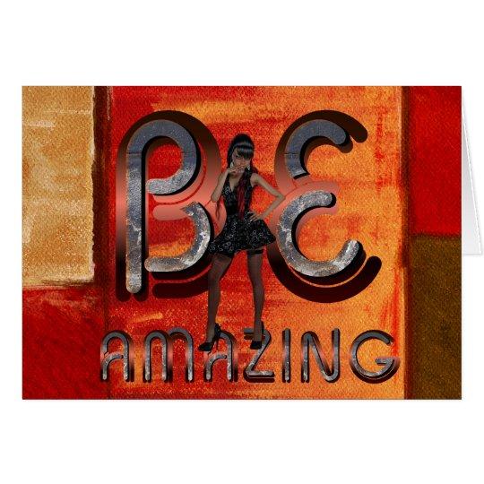 TEE Be Amazing Card