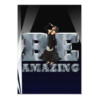 TEE Be Amazing Singer Card