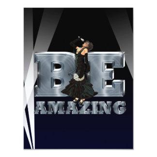 TEE Be Amazing Singer Card