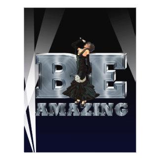 TEE Be Amazing Singer Flyer