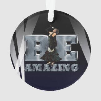 TEE Be Amazing Singer Ornament