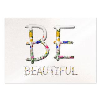 TEE Be Beautiful Business Card Templates