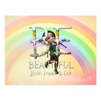 TEE Be Beautiful Post Cards