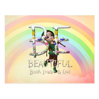 TEE Be Beautiful Postcard