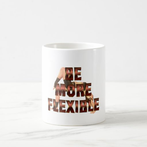 TEE Be More Flexible Mugs