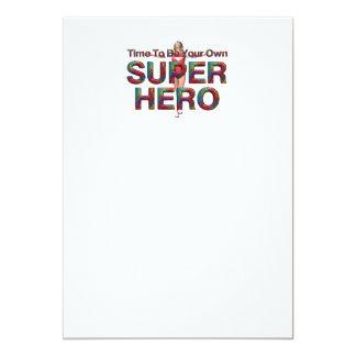 TEE Be Own Superhero Card