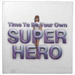 TEE Be Own Superhero Printed Napkins