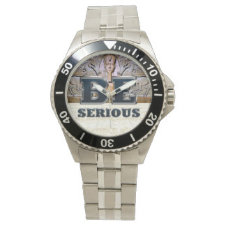 TEE Be Serious Wristwatches