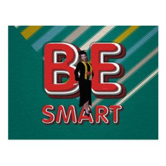 TEE Be Smart Postcard