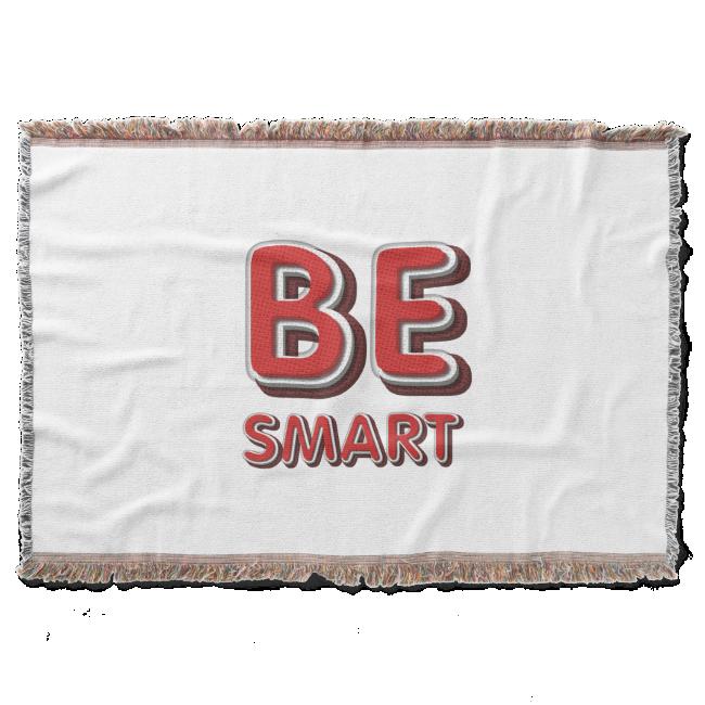 TEE Be Smart Throw Blanket