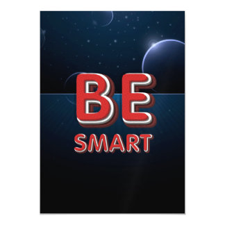 TEE Be Smart Magnetic Invitations
