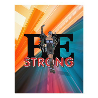 TEE Be Strong Full Color Flyer