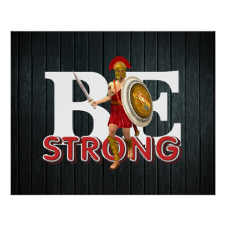 TEE Be Strong Poster