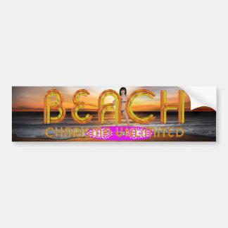 TEE Beach Charisma Bumper Sticker