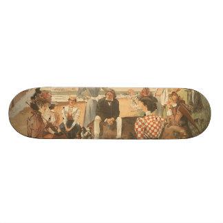 TEE Beach Friends Skateboard Deck