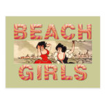 TEE Beach Girls Rule the World Postcard