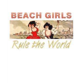 TEE Beach Girls Rule the World zazzle_shirt