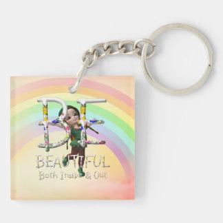 TEE Beautiful Keychain