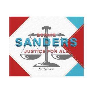 TEE Bernie Sanders for President Canvas Print