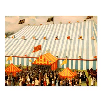 TEE Big Top Postcard
