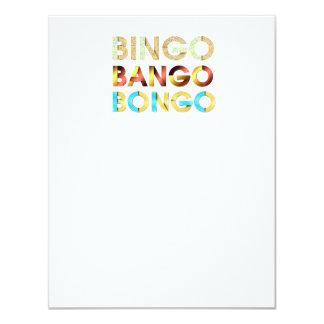 TEE Bingo Bango Bongo Card