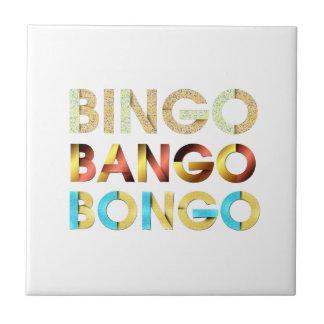 TEE Bingo Bango Bongo Ceramic Tile