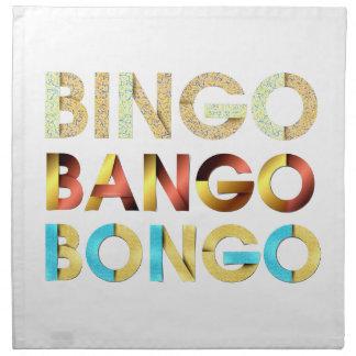 TEE Bingo Bango Bongo Cloth Napkin